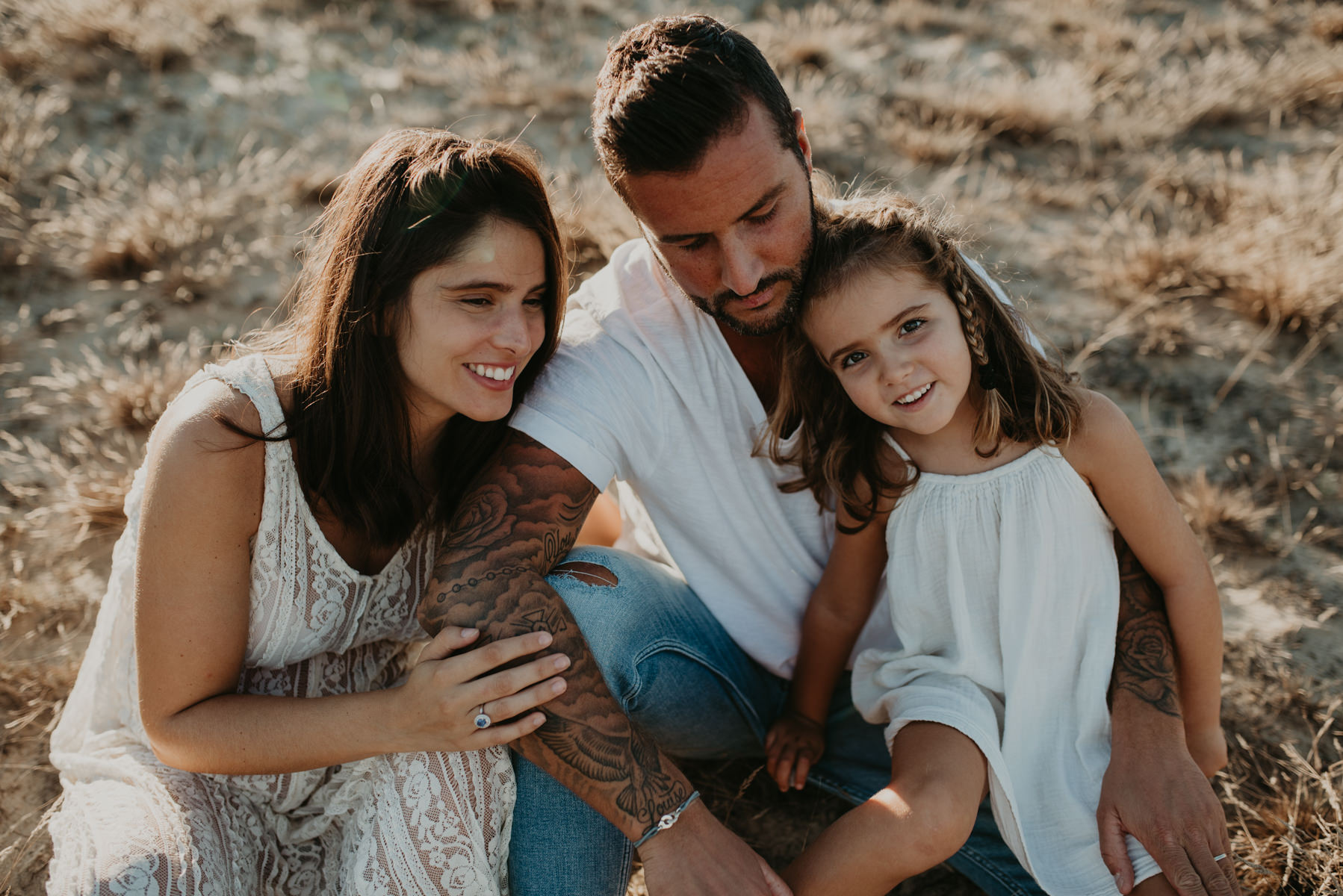 séance famille au porge