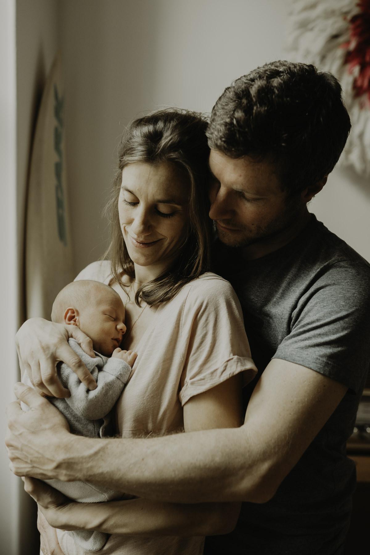 famille bébé