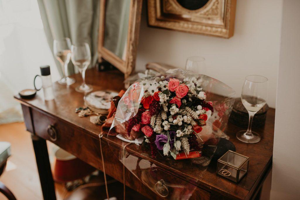 fleurs chateau d'orion