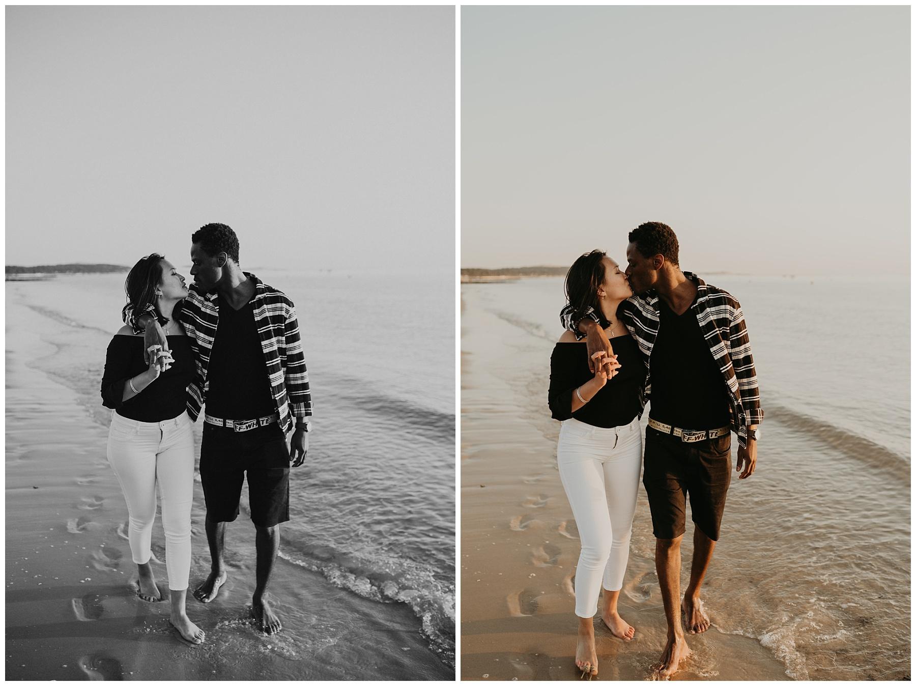 balade amoureux plage