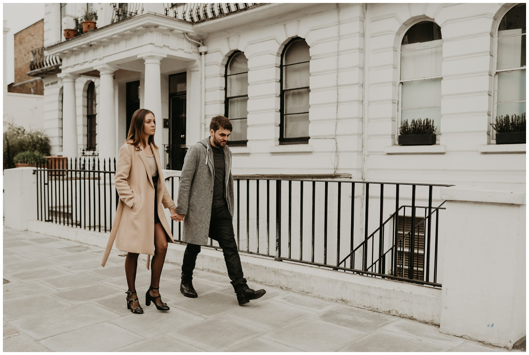 marche couple notting hill