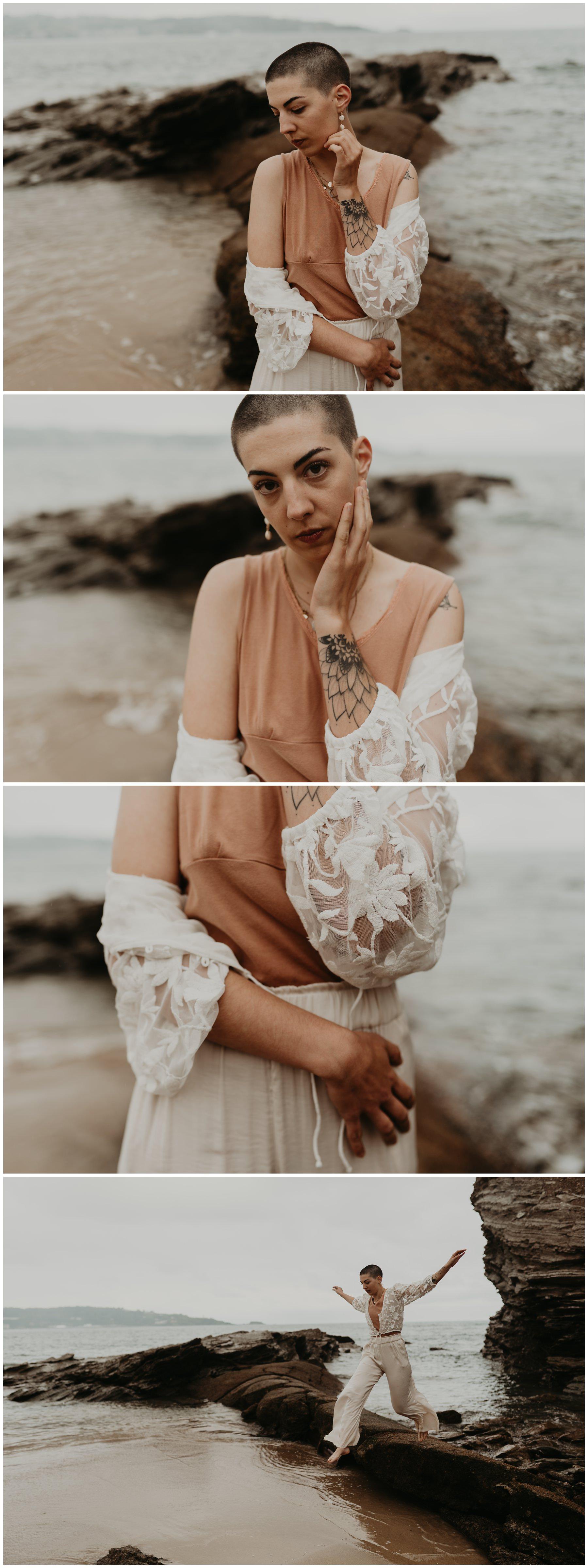 photographe portrait femme hendaye