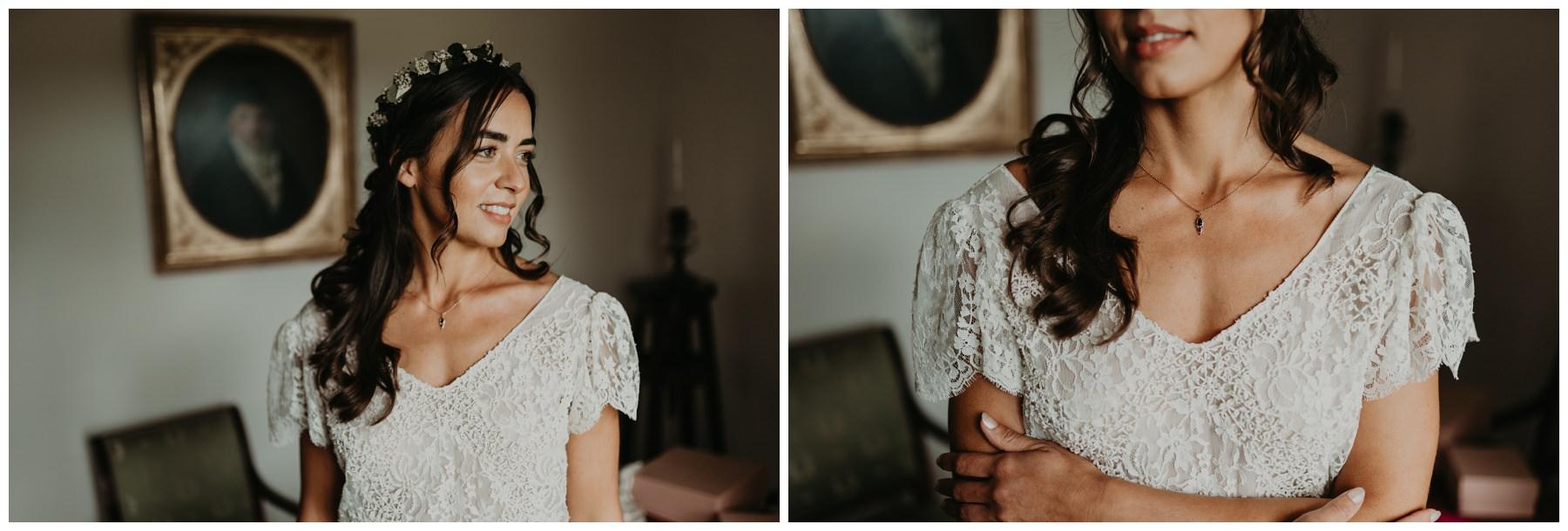 portrait mariée bohème