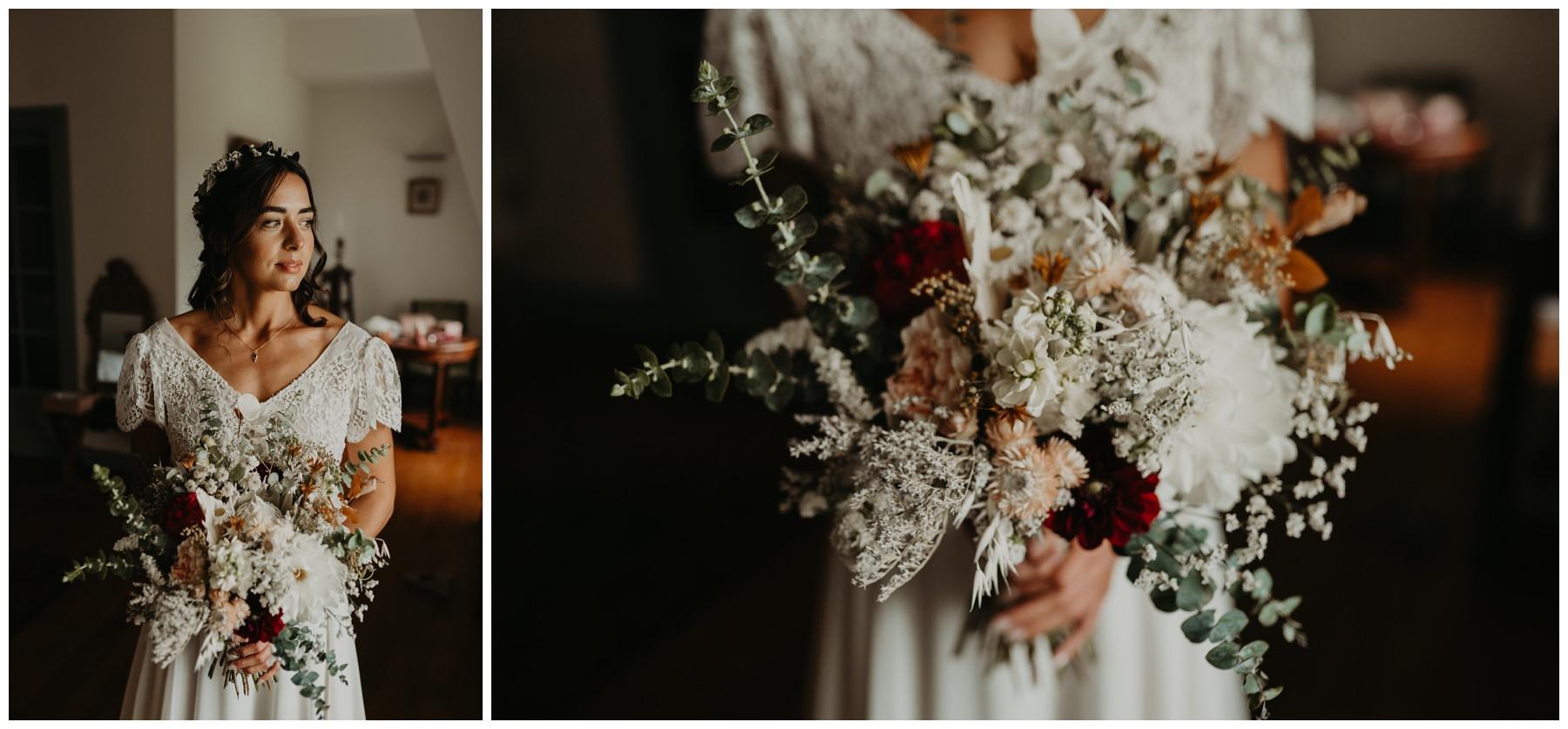 mariage fleurs béarn