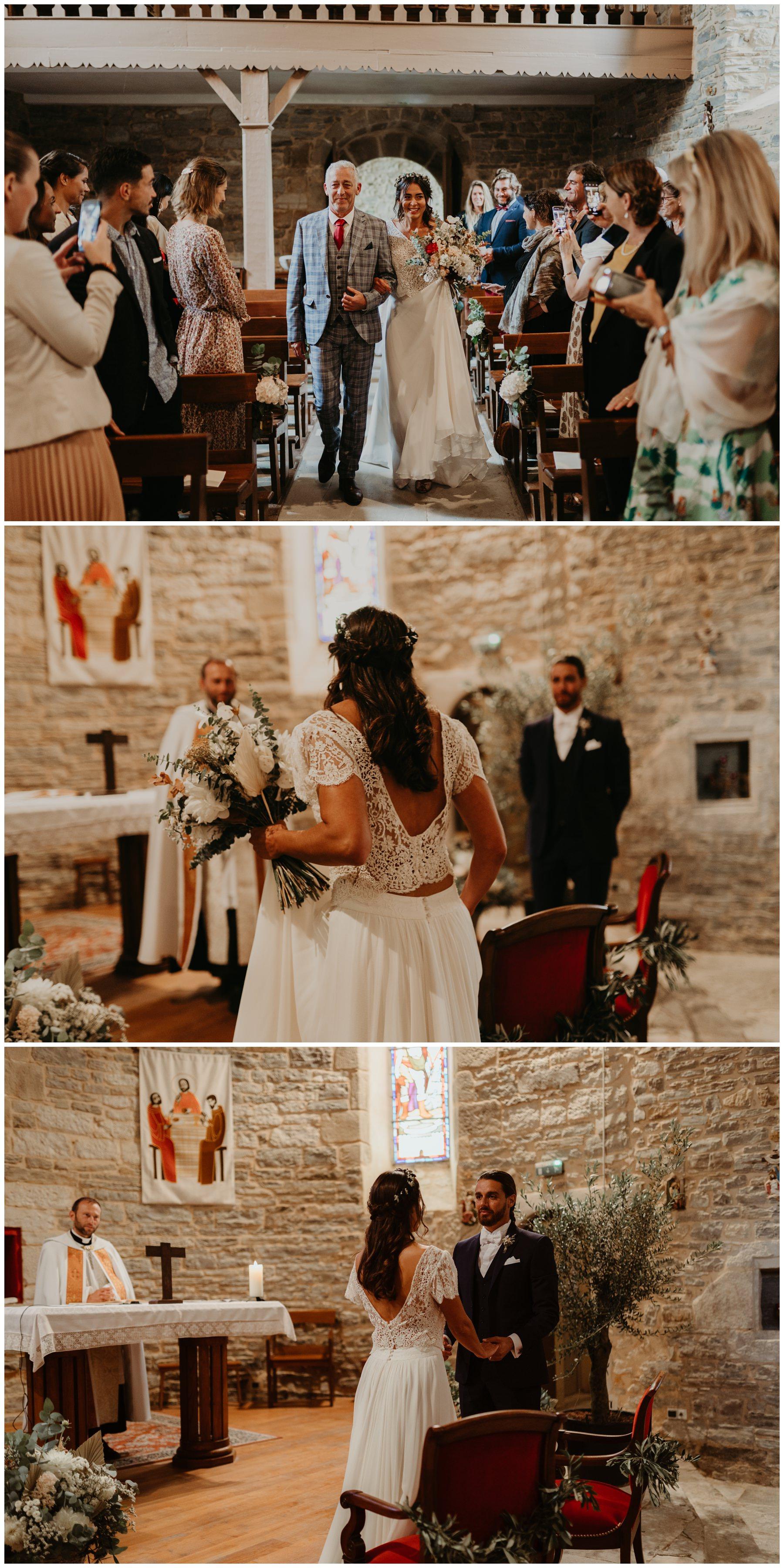 mariage eglise bohème