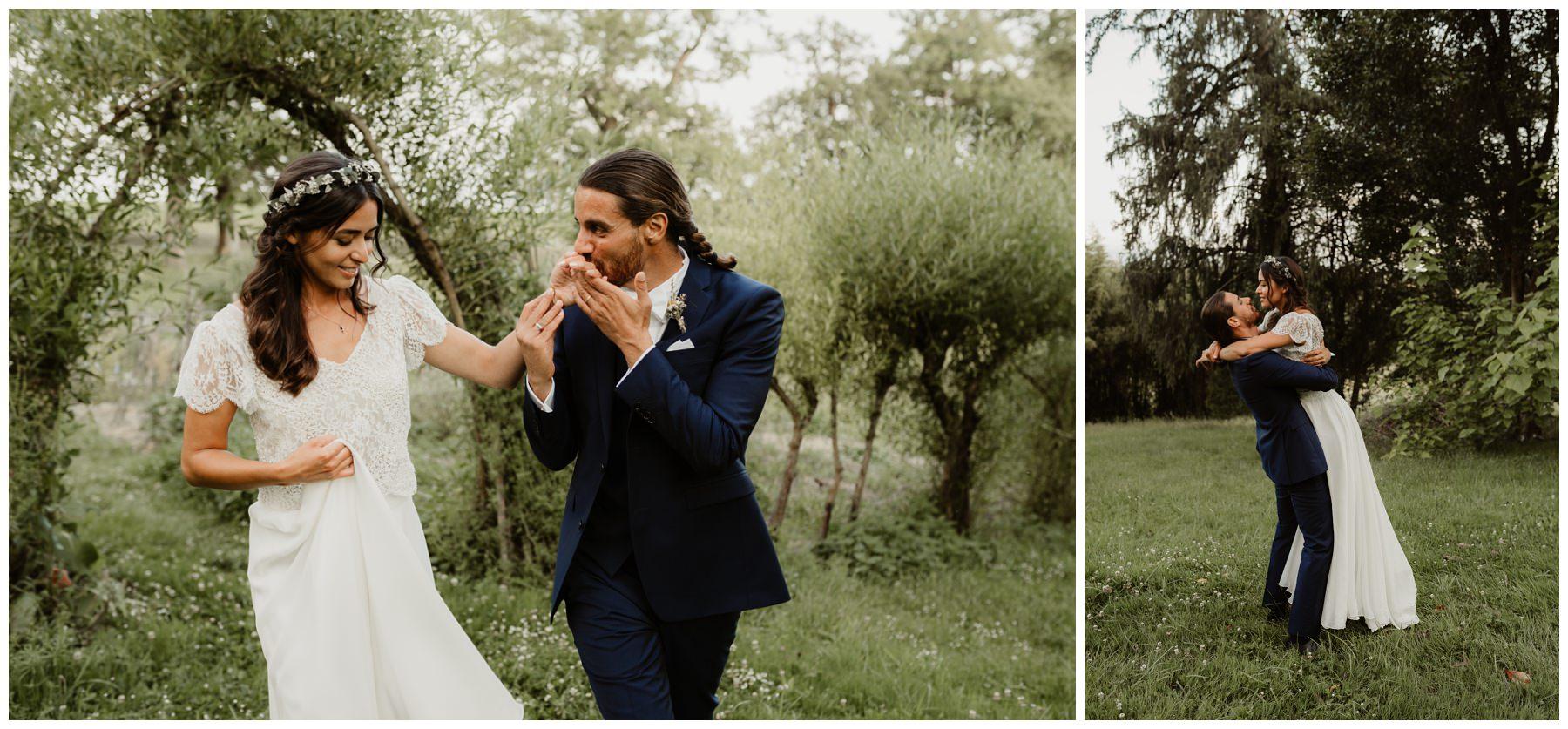 mariage nature bohème