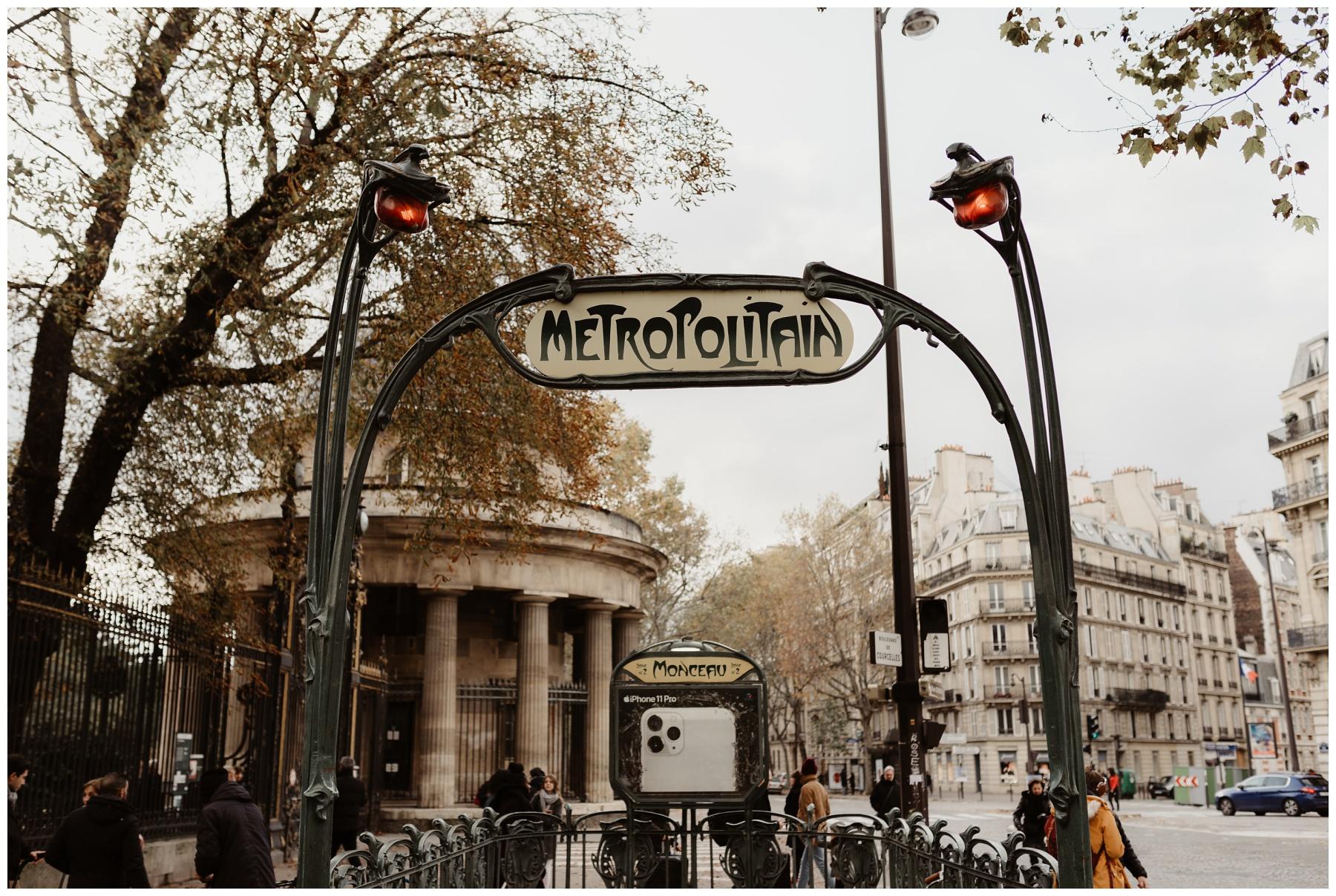 metro paris monceau