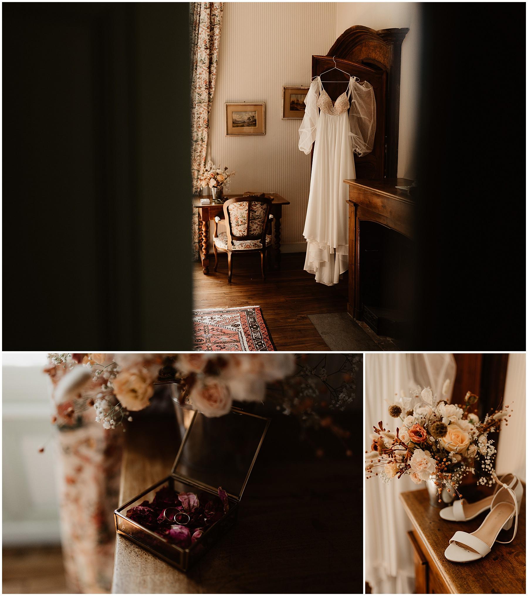 Château des Gaudras mariage photographe