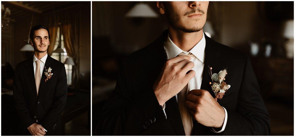 mariage photo préparatifs marié