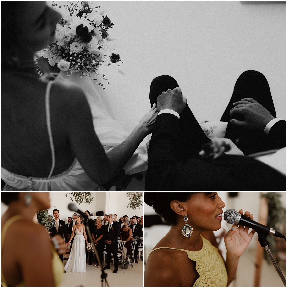 photographe mariage château des gaudras